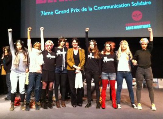 FEMEN Grand Prix de la communication solidaire