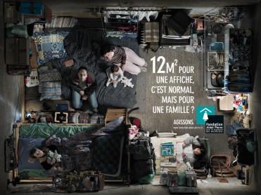 Fondation Abbé Pierre 12m2 Communication sans frontières